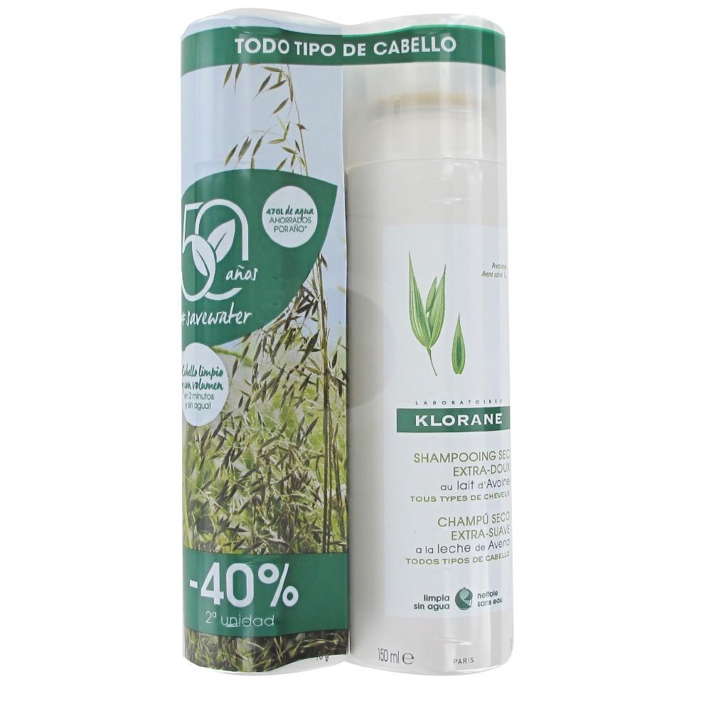 Klorane Champú Avena spray 150ml +150ml*