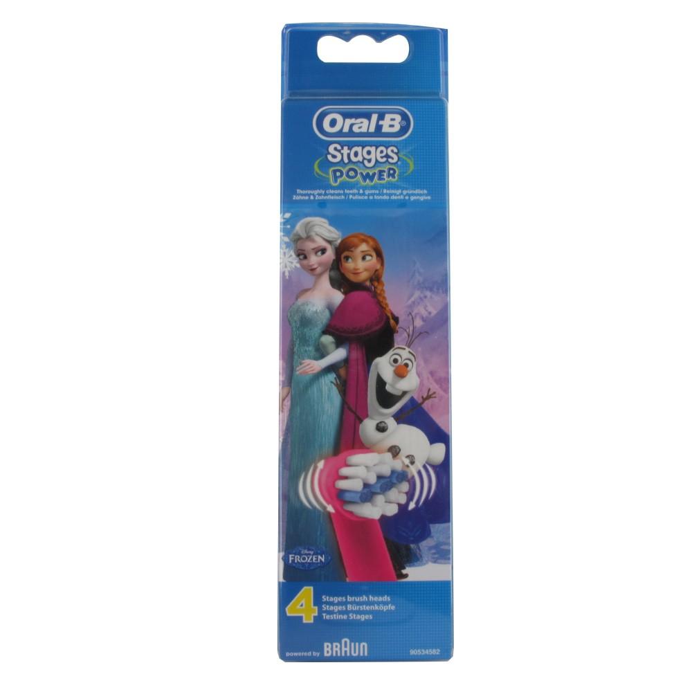 Oral B Recambio de Cepillo electrico frozen 3 recambios comprar a ... f1bd78686b58