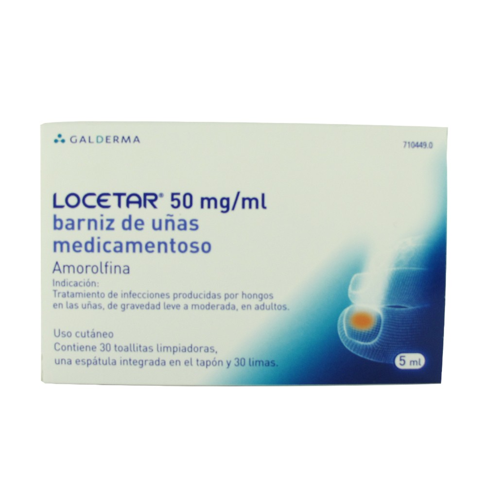 Locetar 50 mg/ml barniz de uñas medicamentoso 5ml comprar a precio ...