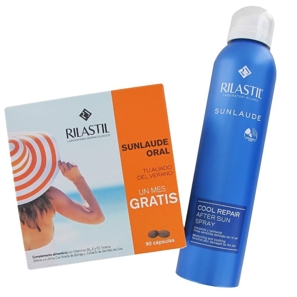 Rilastil Sunlaude oral 30+30+30  cápsulas + AFTERSUN REGALO