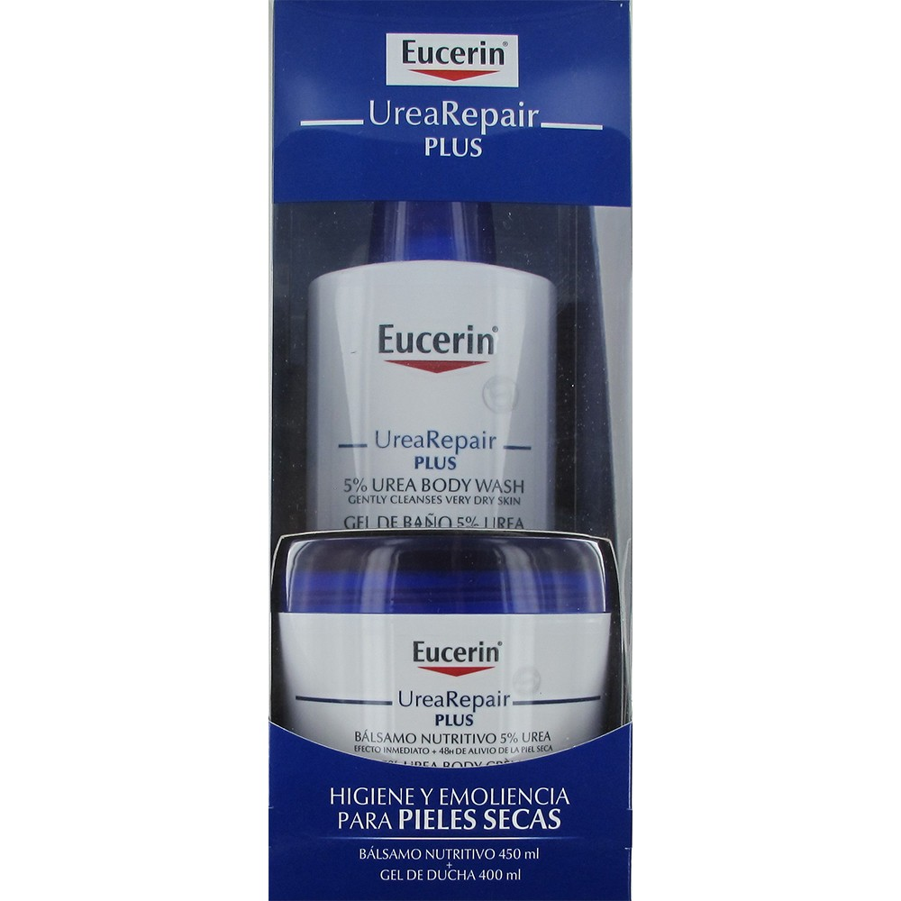 Eucerin UreaRepair Plus bath gel + 5% Urea nourishing balm