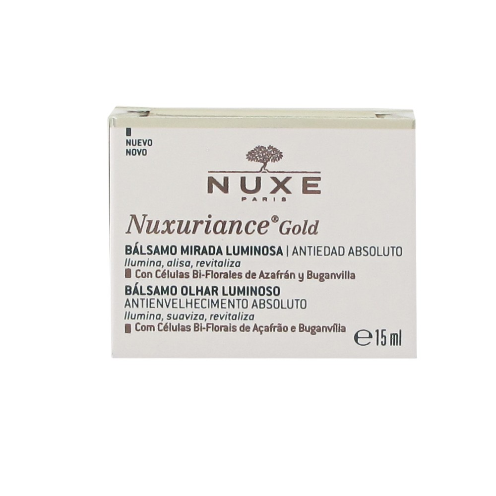 Nuxuriance Gold Bálsamo Mirada Luminosa 15ml