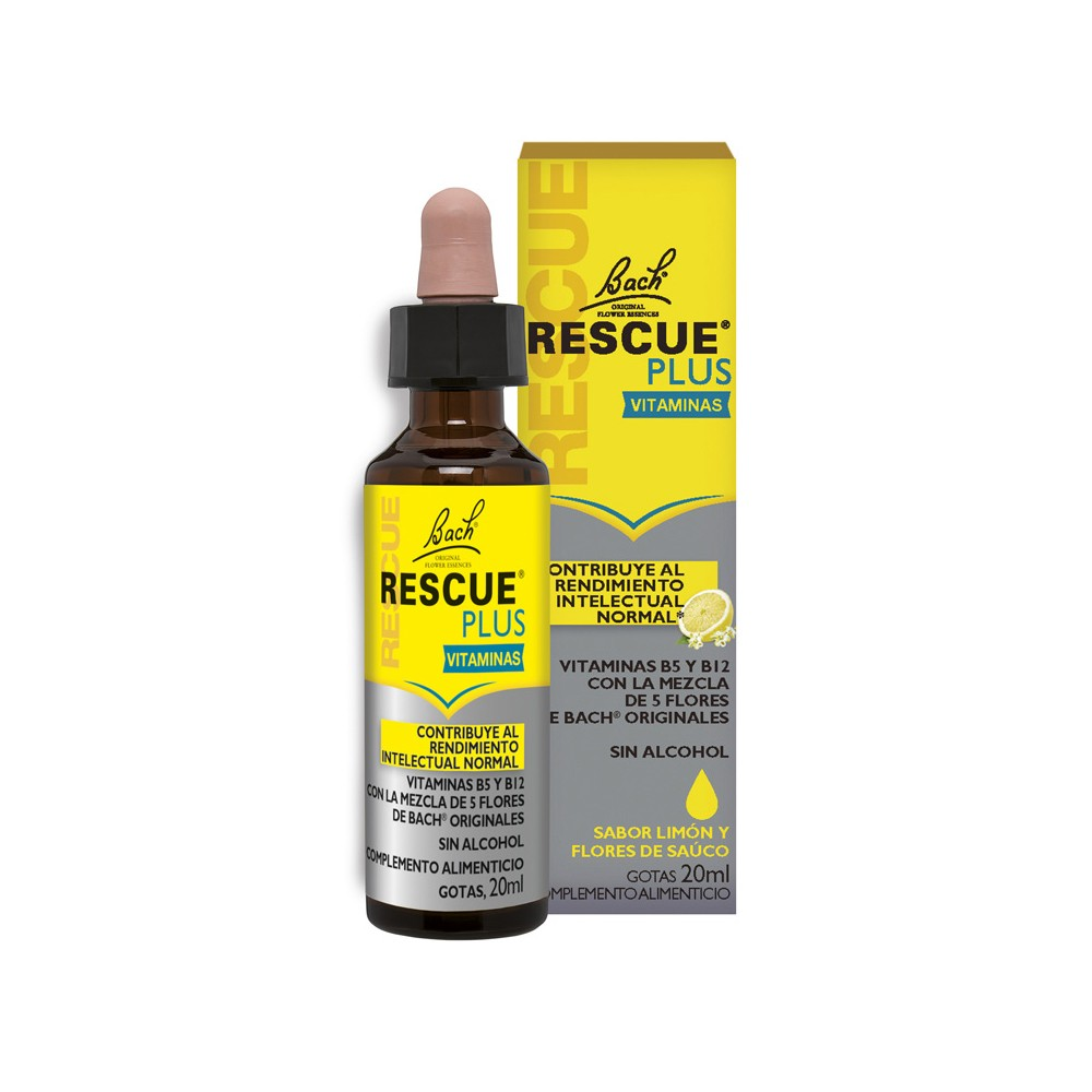 Bach Rescue Plus gotas 20ml