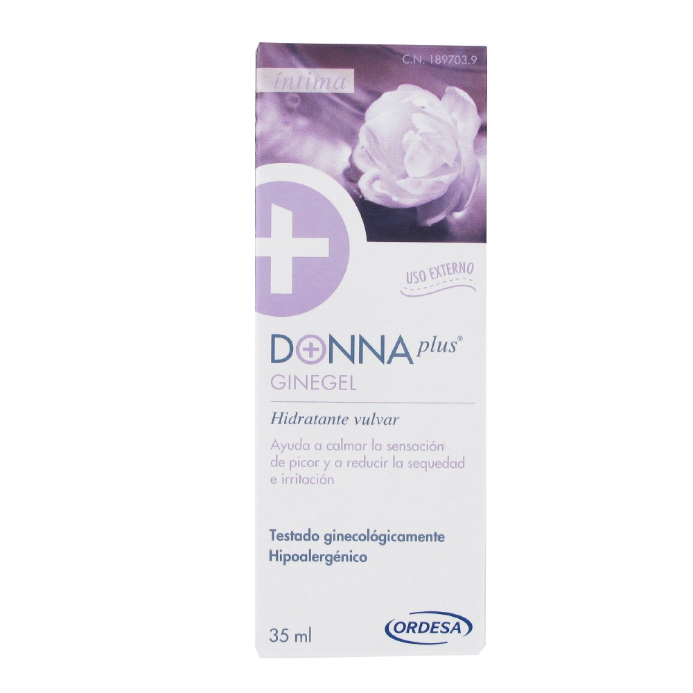 Donna plus Ginegel hidratante vulvar 35ml