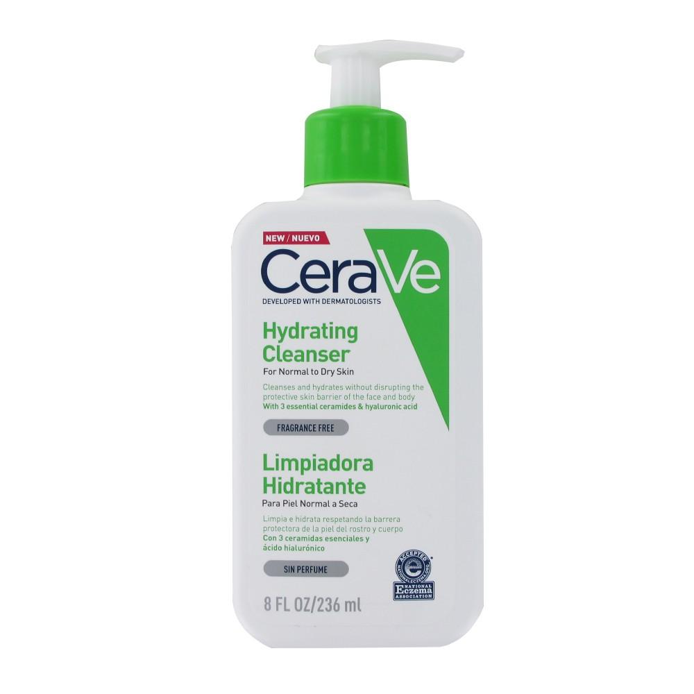Cerave crema limpiadora hidratante 236ml