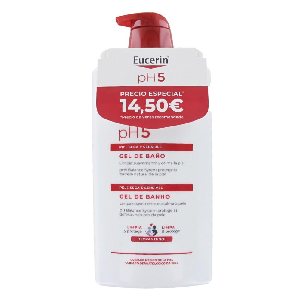 Eucerin gel de baño 1L + Locion hidratante ultraligera 1L