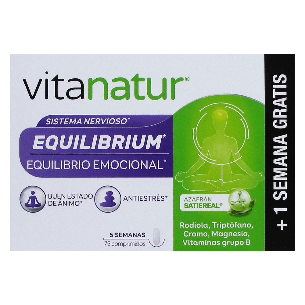 Diafarm Vitanatur Equilibrium 60 comprimidos