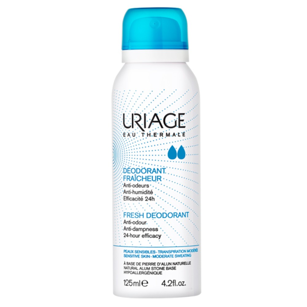 Uriage desodorante refrescante 125ml