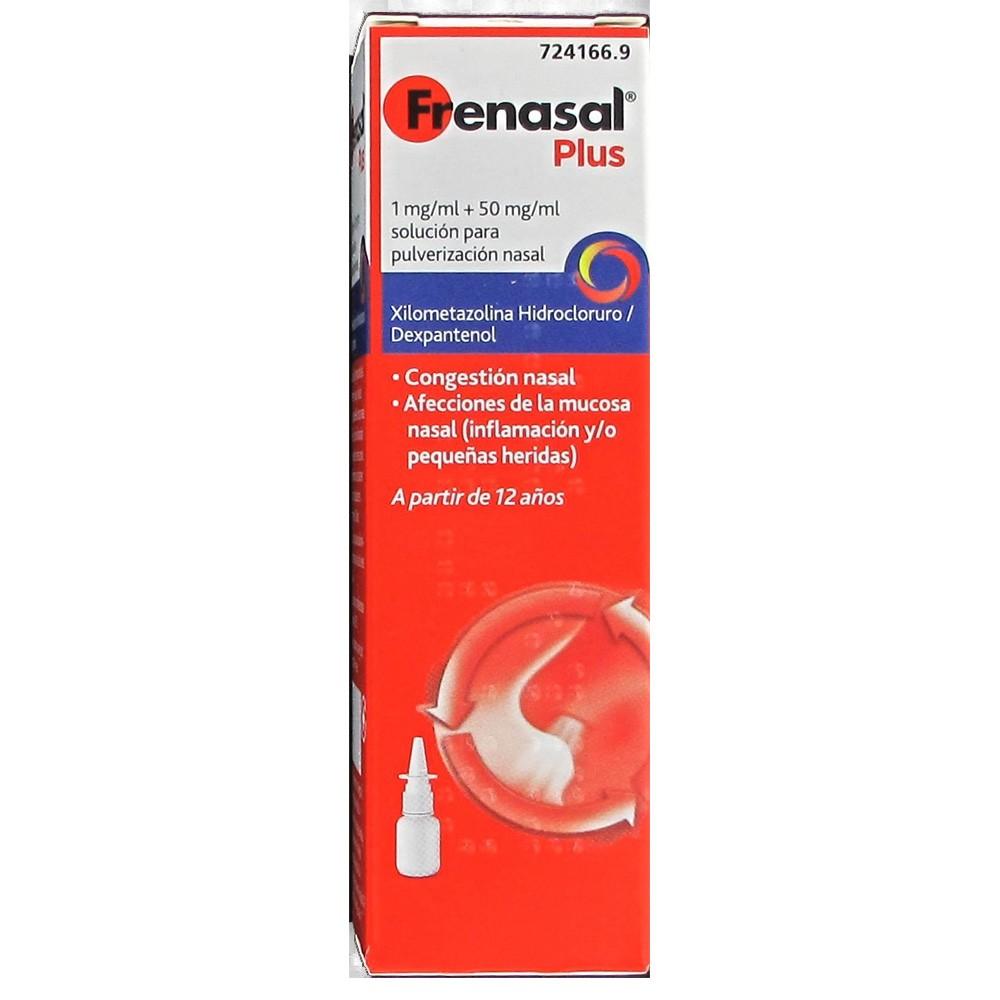 Frenasal plus 1mg/ml + 50mg/ml solución pulverización nasal