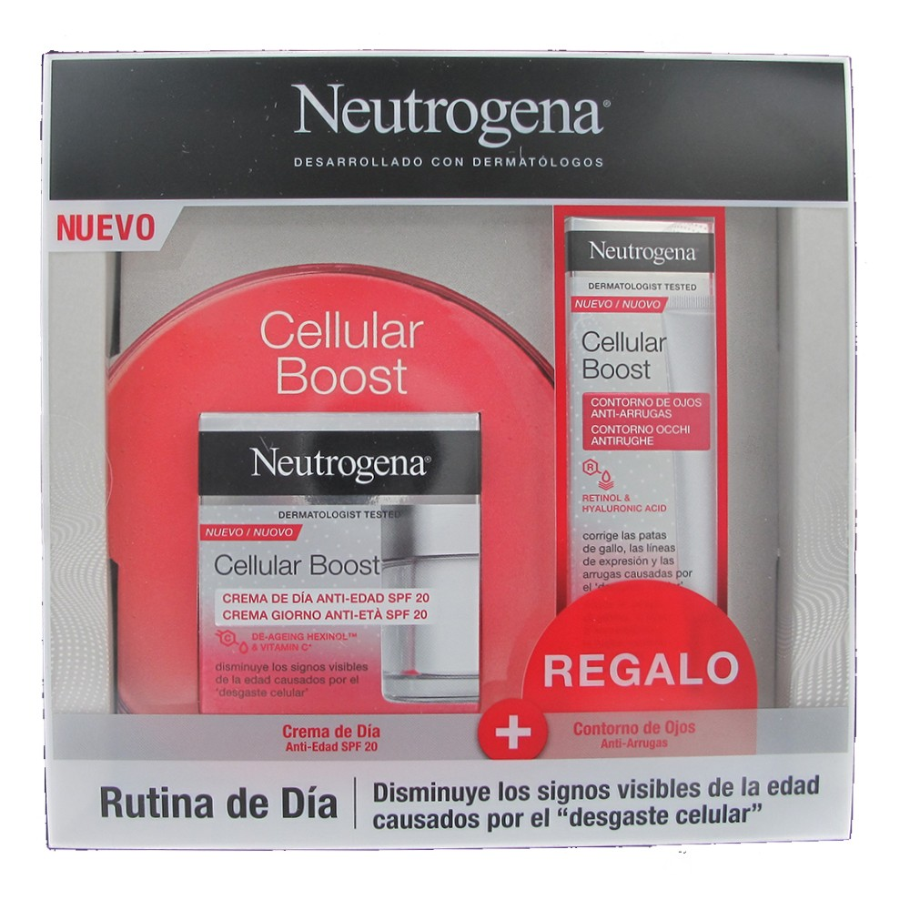 Neutrogena rutina de DIA Cellular Boost