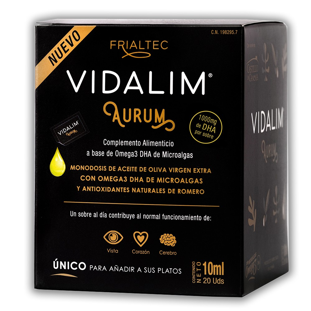 Vidalim Aurum 20 sobres de 10 ml