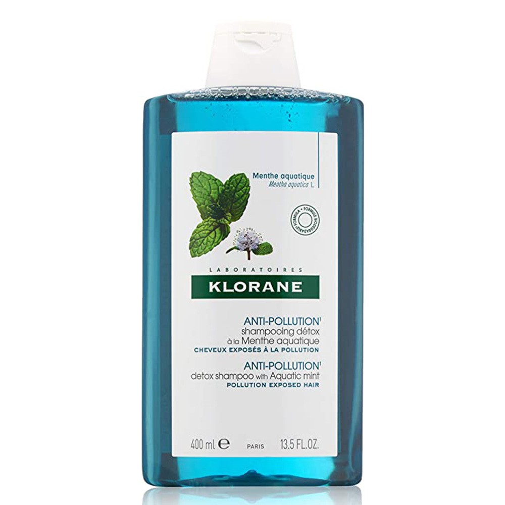 Klorane champu Detox anti polucion 400ml
