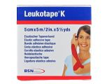 Leukotape K 5cmx5m cinta Kinesia color Rojo