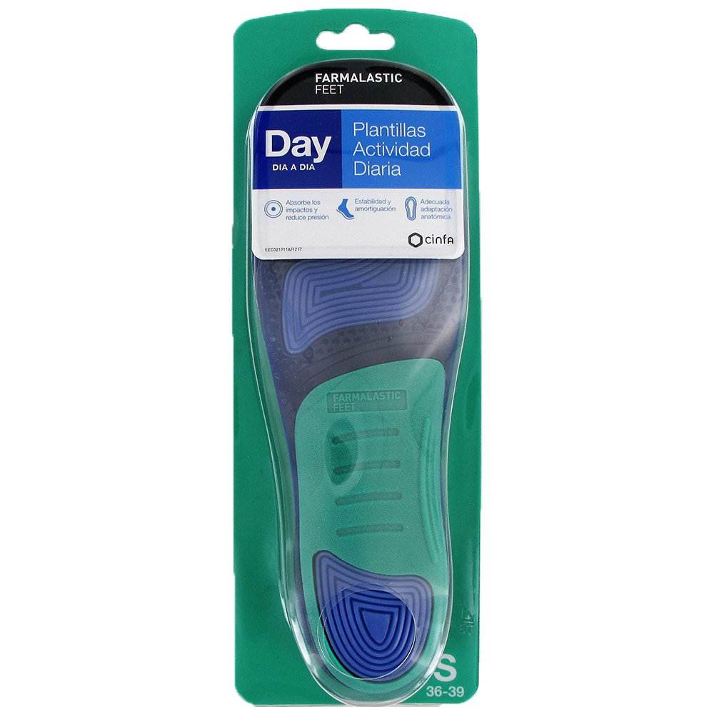 Farmalastic insoles DAY daily activity Size S (36-39)