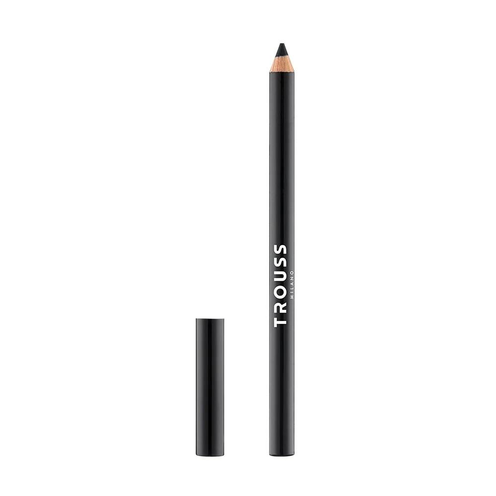 Trouss lápiz de ojos duro color negro MU-13