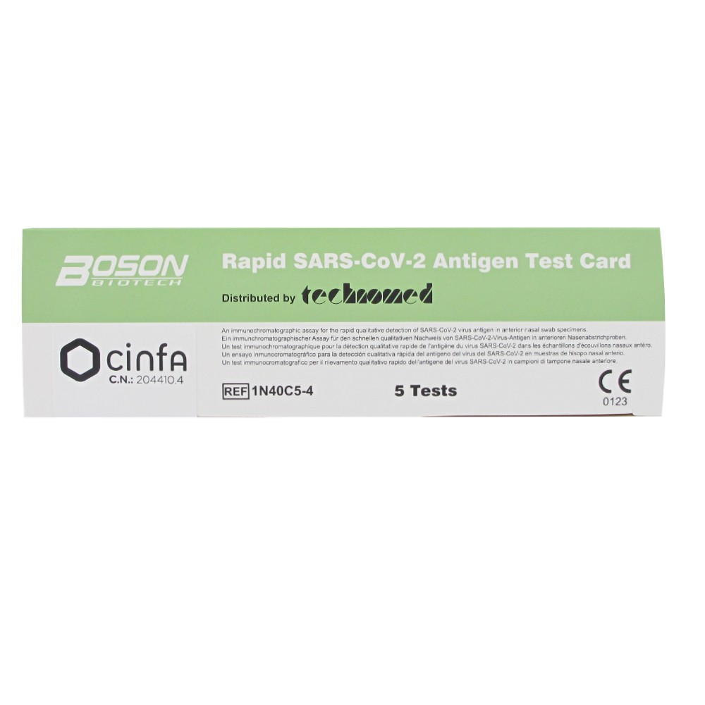 Cinfa Test nasal antígenos SARS-CoV-2 5uds