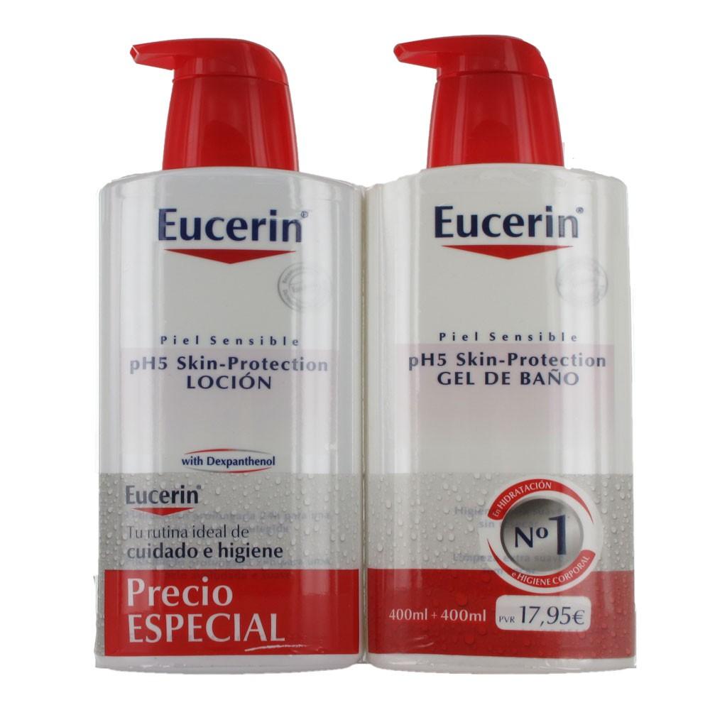 Eucerin locion ph5 400ml gel de ba o 400ml comprar a precio en oferta - Eucerin gel de bano ...