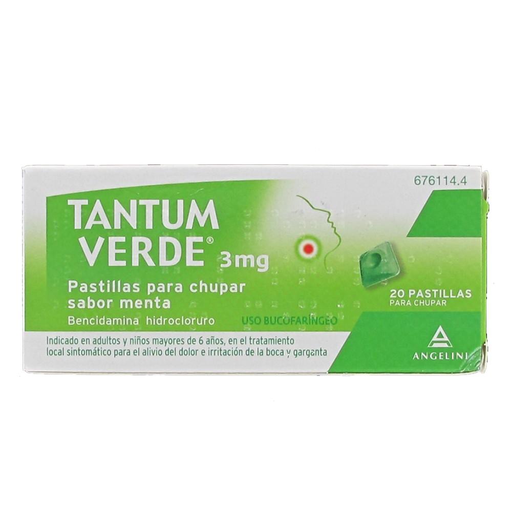 Tantum Verde 20 pastillas