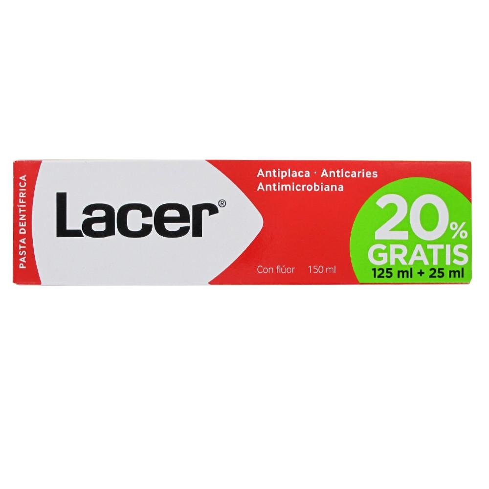 Lacer Pasta dentifrica 125ml +125ml
