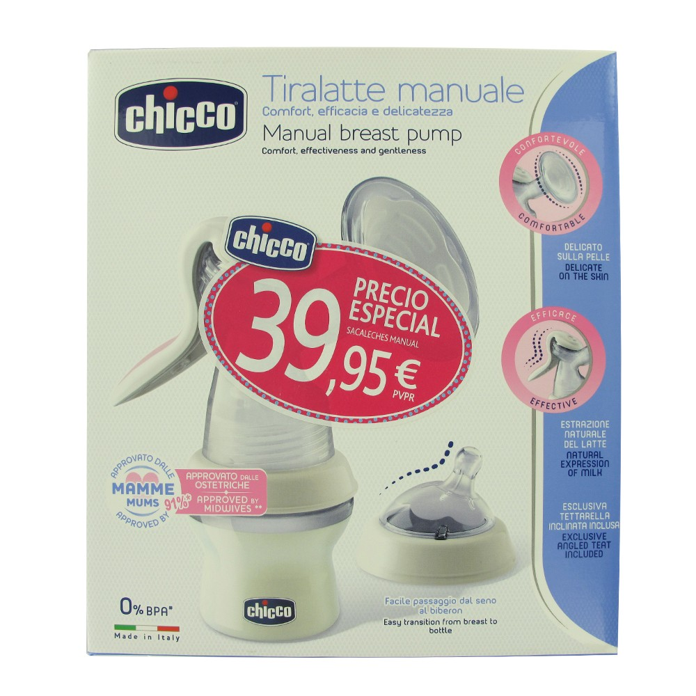 Chicco Sacaleches manual