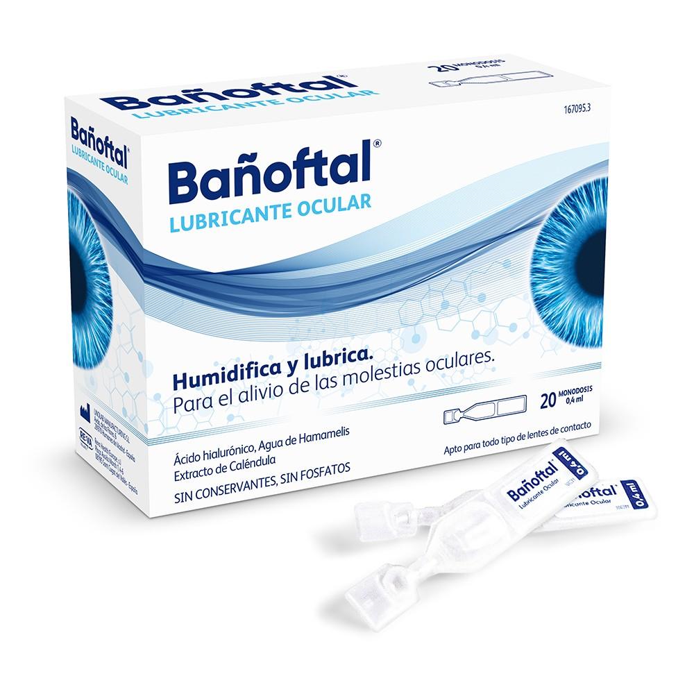 Banoftal Bano Ocular 20 Monodosis 0 4ml Comprar A Precio En Oferta