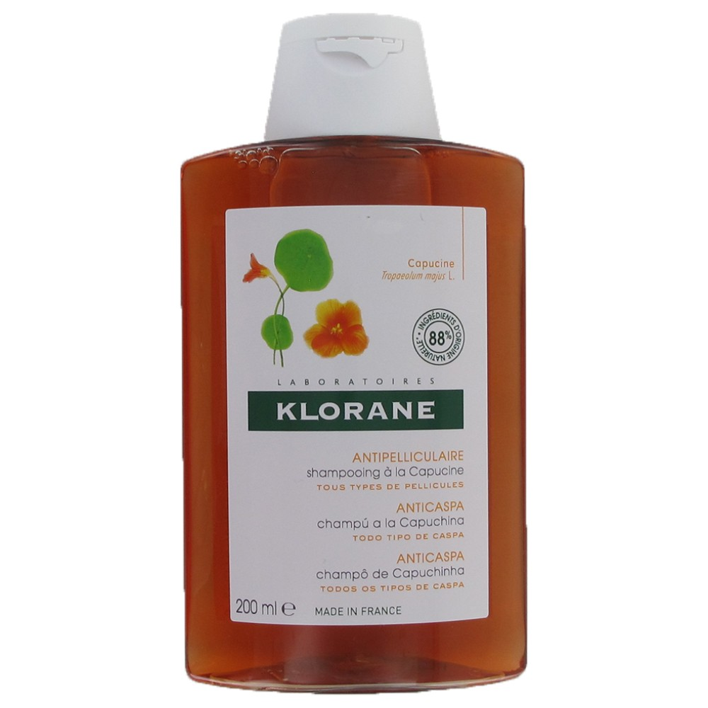 Klorane Champu Capuchina 200 +200ml