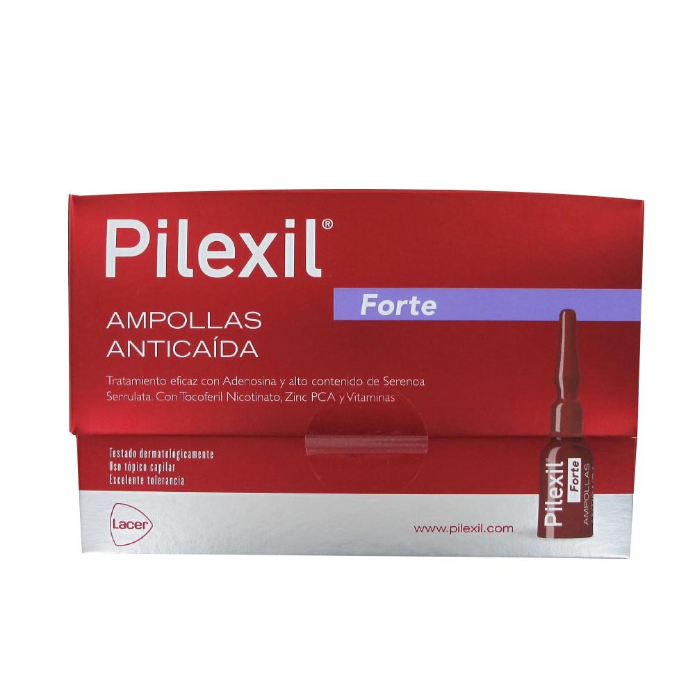 Pilexil Forte 15 ampollas de 5 ml + champu 100ml