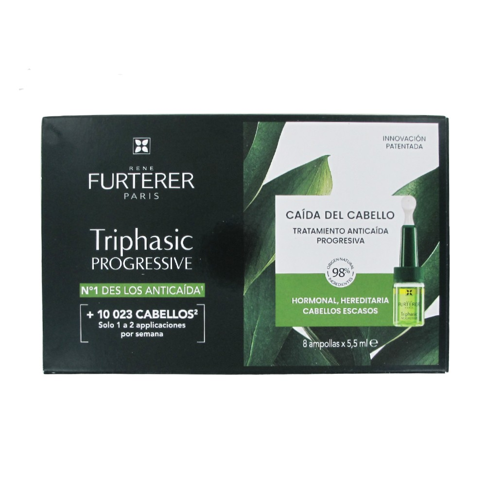 Rene Furterer Triphasic Progressive 8x5,5ml + (*)