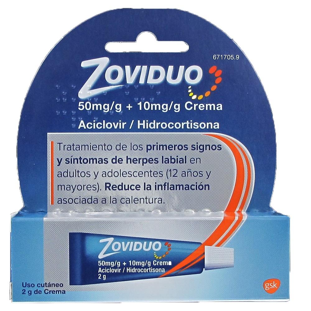 Zoviduo 2gr crema