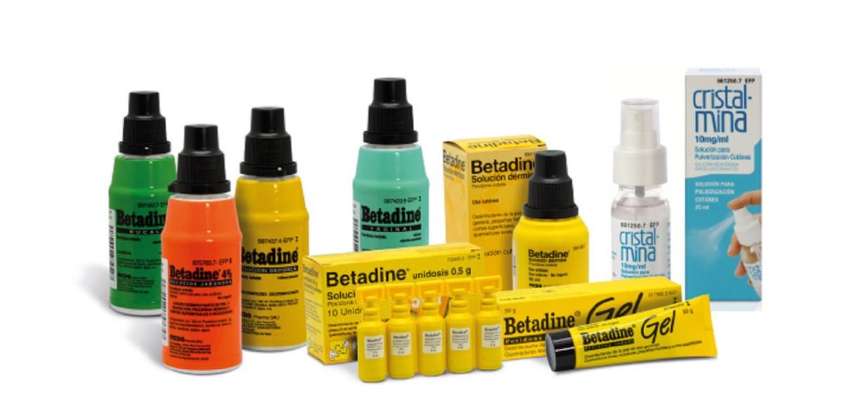 Betadine y Cristalmina, similitudes y diferencias