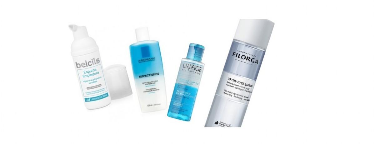 ¿Qué productos utilizar como desmaquillante de ojos?