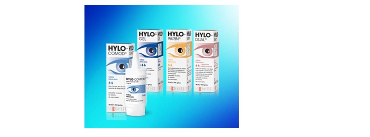 Tramiento del ojo seco con Hylo-comod, Hylo-gel e Hylo-dual