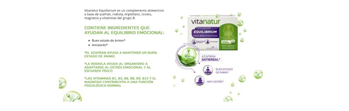 Vitanatur equilibrium, la solución para recuperar tu alegría